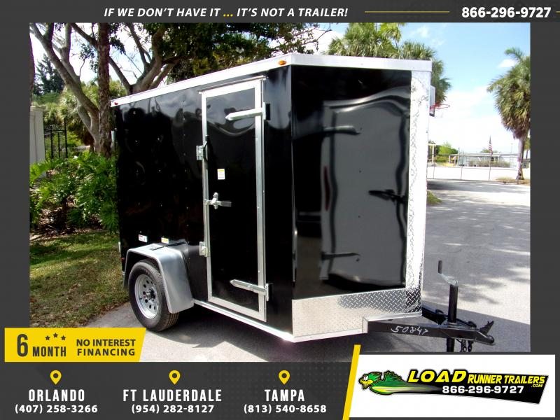 *114637* 5x8 Enclosed Cargo Trailer  LRT Haulers & Trailers 5 x 8
