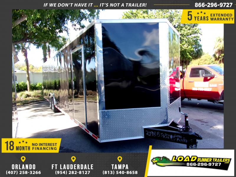 *112431* 8.5x32 Enclosed Cargo Trailer |LRT Tandem Axle Trailers 8.5 x 32