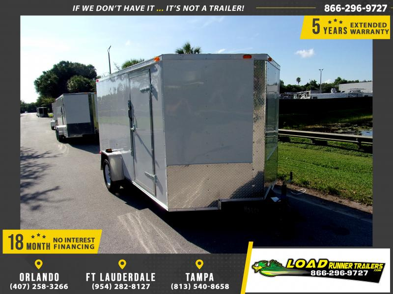 *110346* 7x12 Enclosed Cargo Trailer |LRT Haulers & Trailers 7 x 12