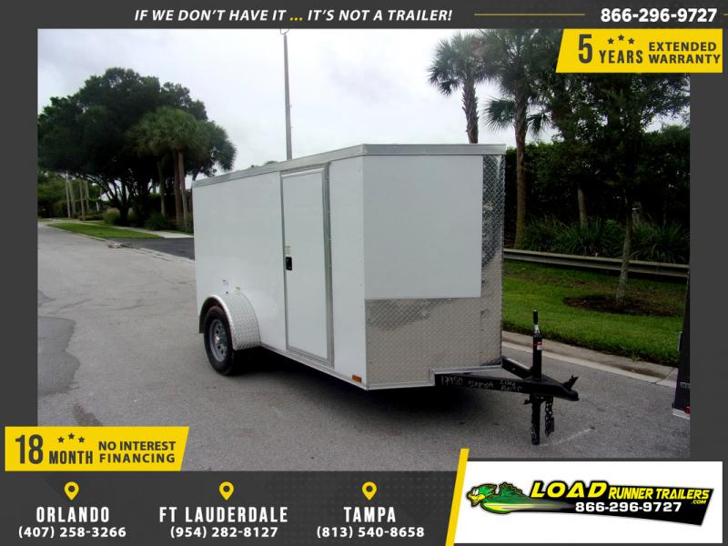 *109851* 5x10 Enclosed Cargo Trailer |LRT Haulers & Trailers 5 x 10