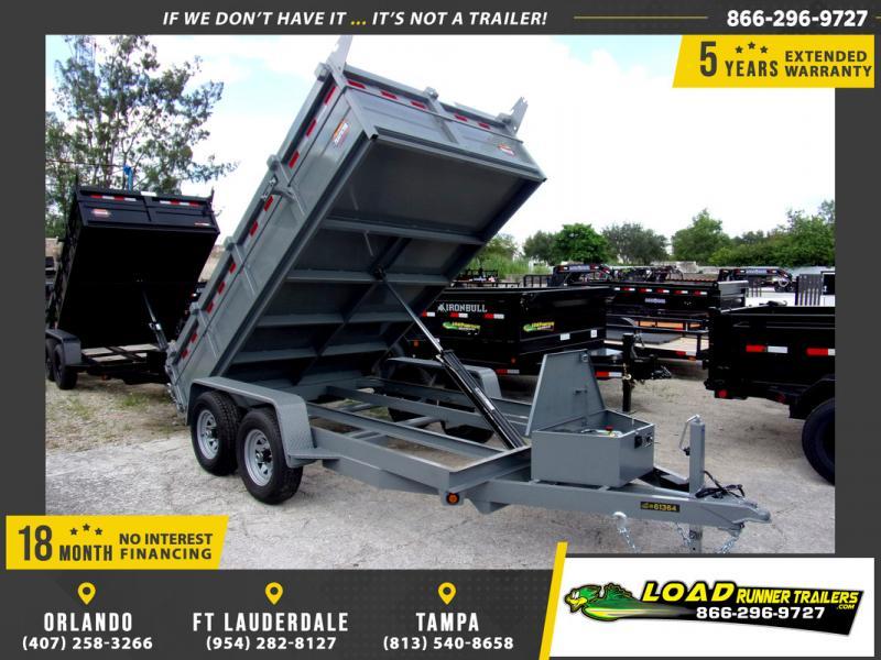 *110325* 6x12 5 TON Dump Trailer |LRT Trailers & Dumps 6 x 12