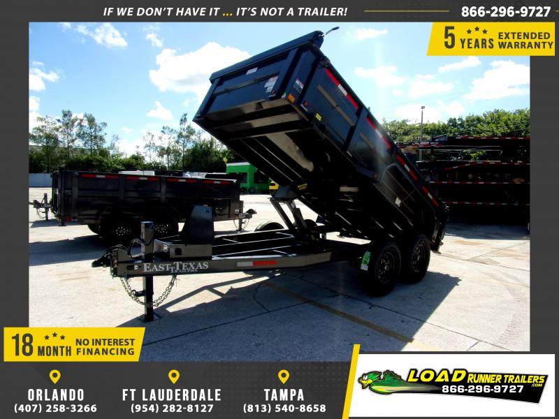 *111786* 7x14 Dump Trailer |LRT Tandem Axle Trailers 7 x 14