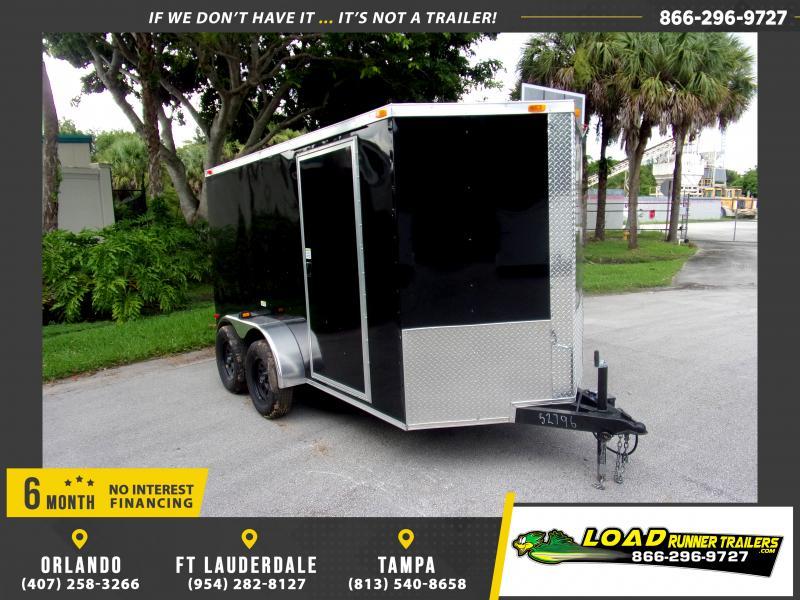 *117339* 6x12 Enclosed Cargo Trailer |LRT Tandem Axle Trailers 6 x 12