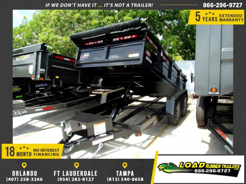 *115966* 6x12 5 TON Dump Trailer |LRT Trailers & Dumps 6 x 12