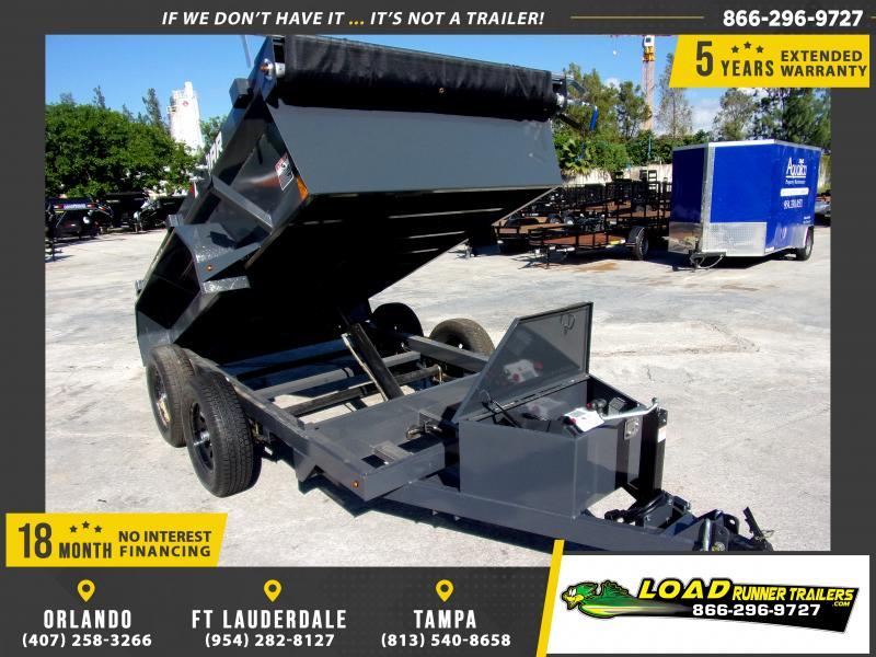 *117269* 5x10 Dump Trailer  LRT Tandem Axle Trailers 5 x 10