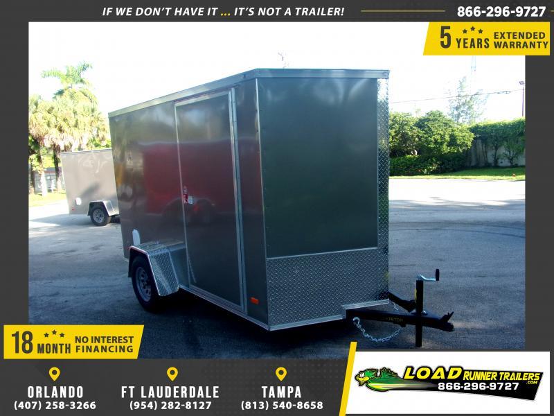*117627* 6x10 Enclosed Cargo Trailer |LRT Haulers & Trailers 6 x 10