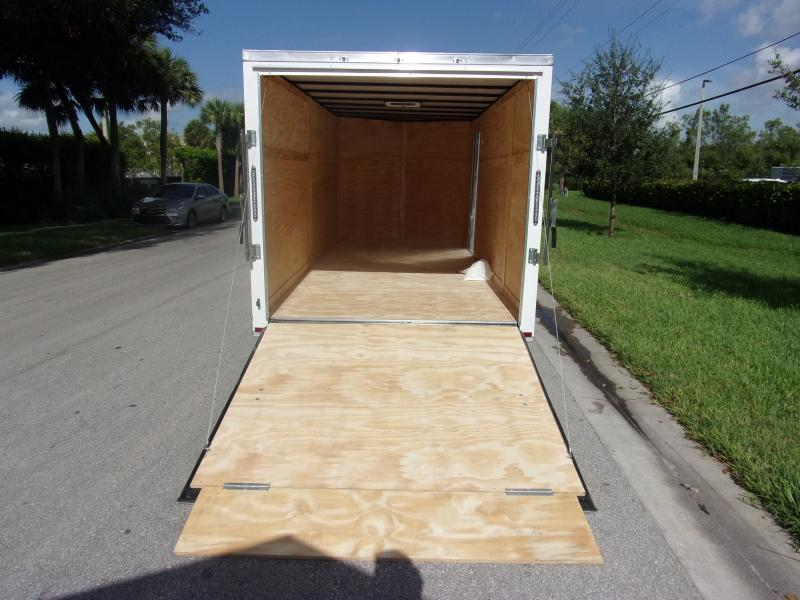 *110565* 7x16 Enclosed Cargo Trailer |LRT Tandem Axle Trailers 7 x 16