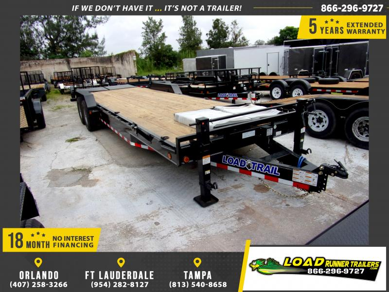 *117036* 7x26 Equipment Hauler w/Max Ramps |LRT Trailers 7 x 26