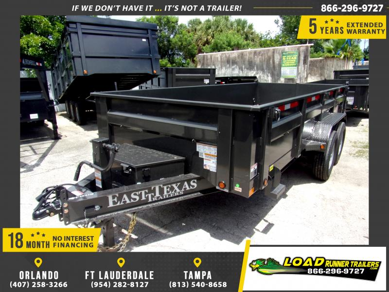 *110841* 7x16 Dump Trailer w/7 GA Floor |LRT Dumps & Trailers 7 x 16