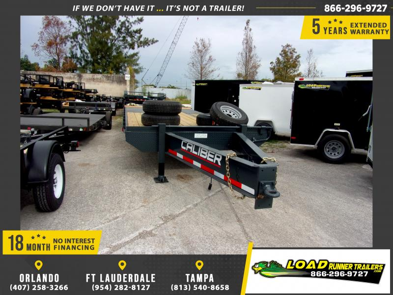 *112784* 8.5x25 Flatbed Deck Over Trailer |LRT Haulers & Trailers 8.5 x 25