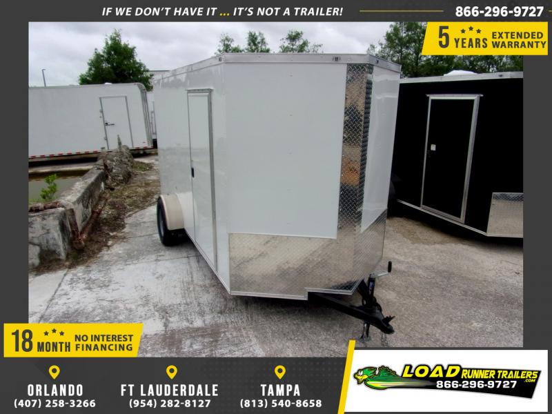 *109814* 6x12 Enclosed Cargo Trailer |LRT Haulers & Trailers 6 x 12