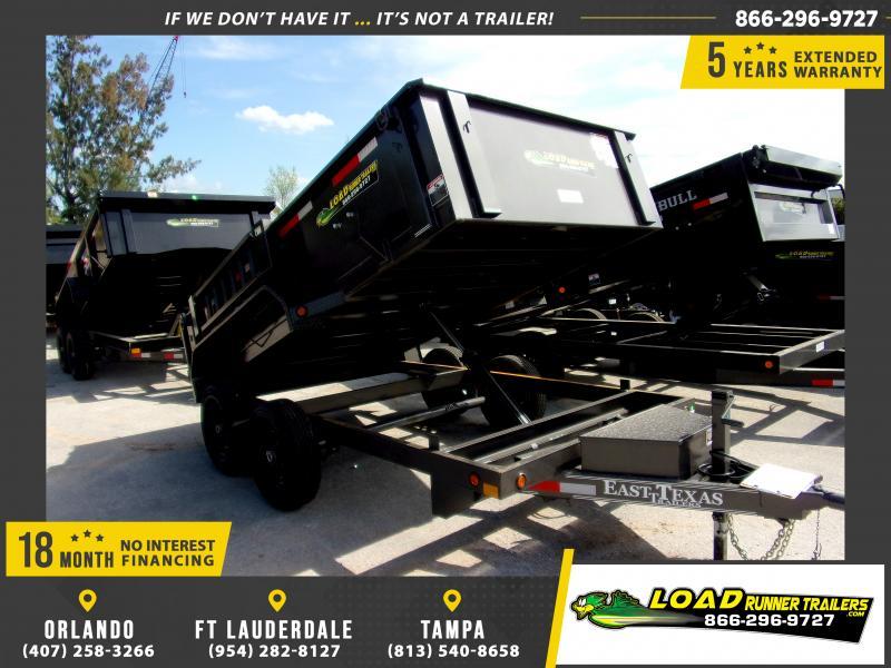 *114171* 6.5x12 Dump Trailer |LRT Tandem Axle Trailers 6.5 x 12