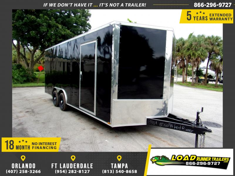 *112392* 8.5x20 Enclosed Cargo Trailer |LRT Tandem Axle Trailers 8.5 x 20