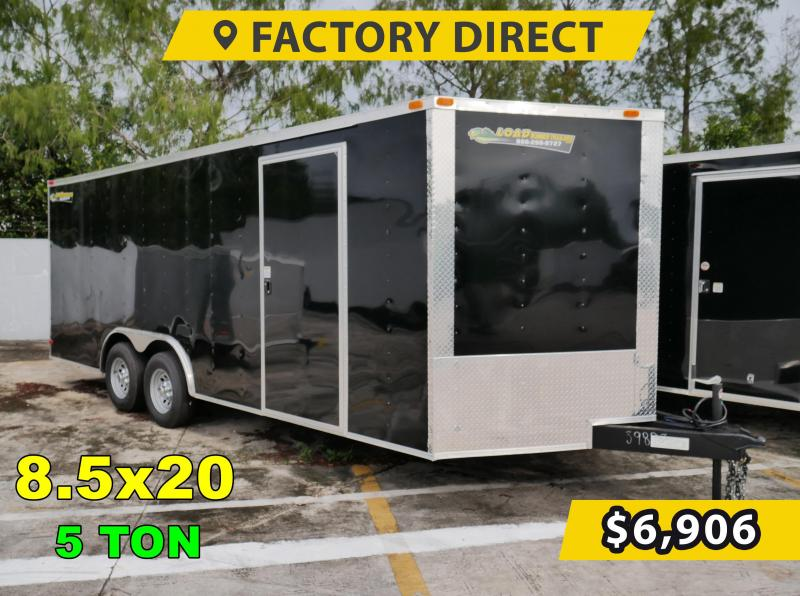 *FD820T5* 8.5x20 FACTORY DIRECT! Enclosed Cargo Trailer 8.5 x 20