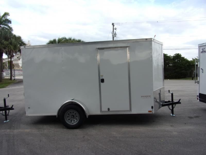 *113143* 6x12 Enclosed Cargo Trailer |LRT Haulers & Trailers 6 x 12
