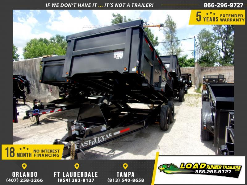 *115583* 7x14 Dump Trailer |LRT Tandem Axle Trailers 7 x 14