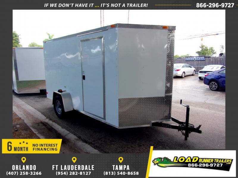 *115789* 6x12 Enclosed Cargo Trailer  LRT Haulers & Trailers 6 x 12
