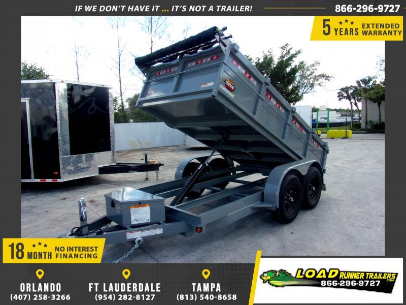 *113977* 6x12 5 TON Dump Trailer  LRT Trailers & Dumps 6 x 12