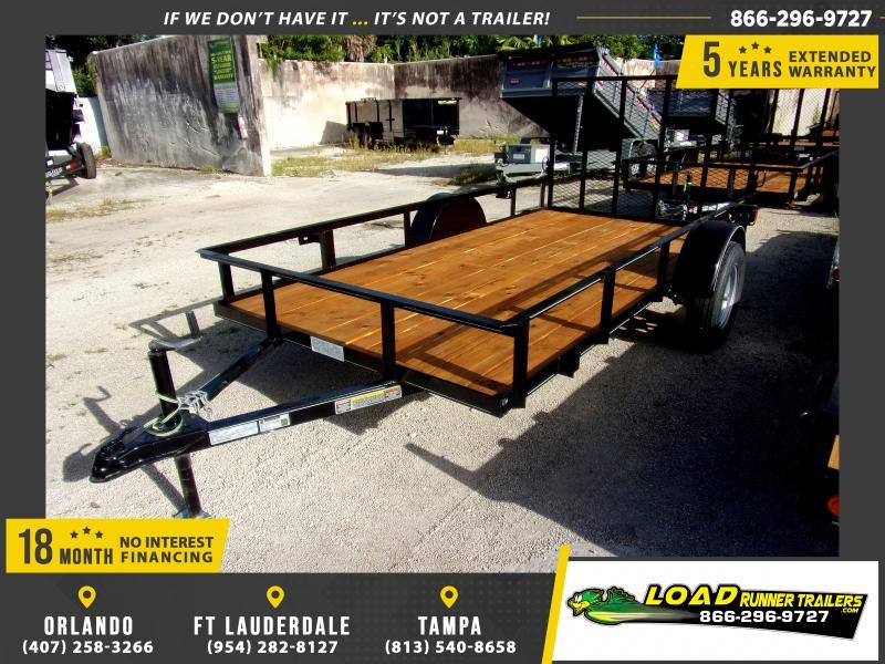 *111847* 6x12 Utility|Lawn|ATV|Multipurpose Trailer |LRT Haulers & Trailers 6 x 12