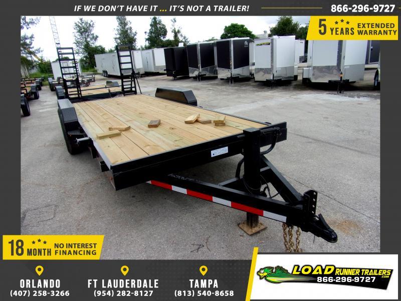 *117208* 7x20 Equipment Trailer |LRT Tandem Axle Trailers 7 x 20