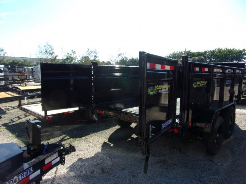 *116500* 7x14 Dump Trailer |LRT Tandem Axle Trailers 7 x 14