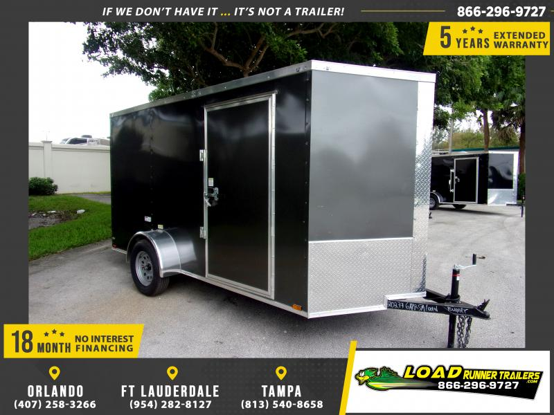 *112333* 6x12 Enclosed Cargo Trailer |LRT Haulers & Trailers 6 x 12