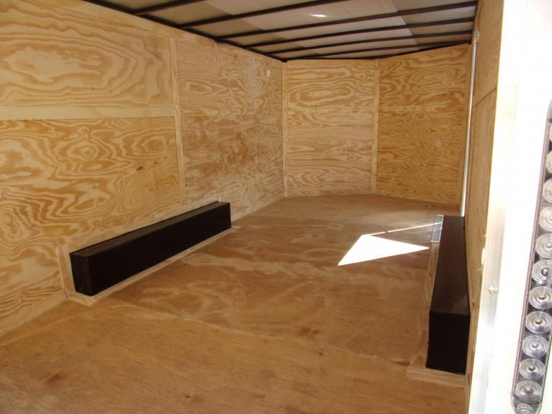 *117171* 8.5x16 Enclosed Cargo Trailer |LRT Tandem Axle Trailers 8.5 x 16