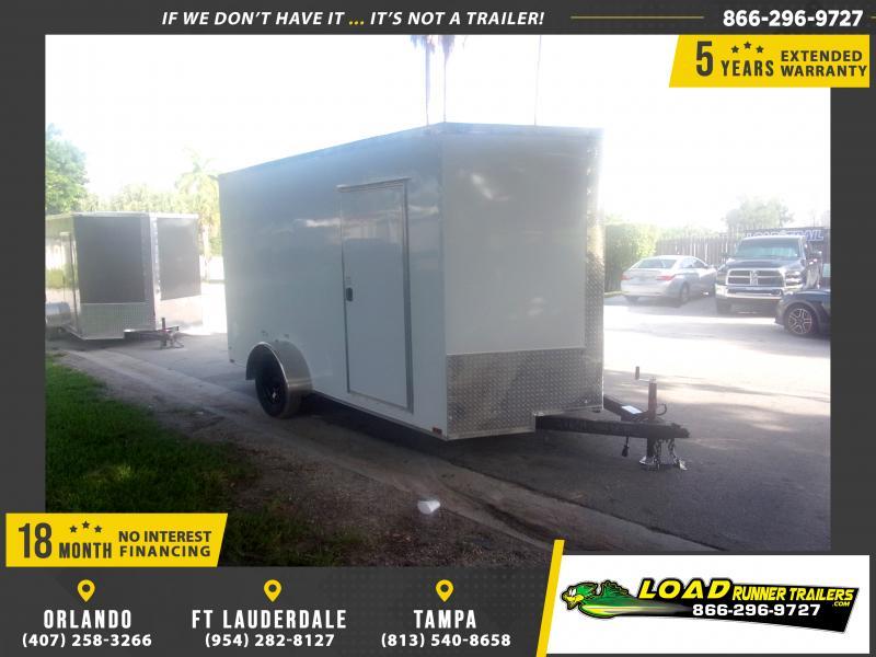 *116564* 7x12 Enclosed Cargo Trailer |LRT Haulers & Trailers 7 x 12