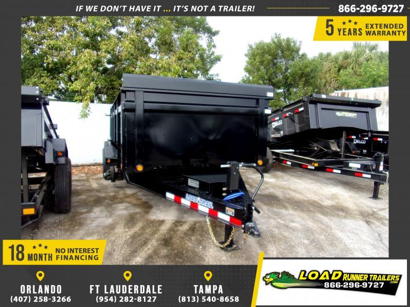*113216* 7x14 Dump Trailer |LRT Tandem Axle Trailers 7 x 14