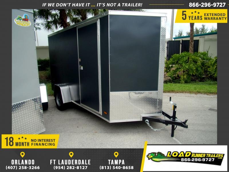 *116617* 6x12 Enclosed Cargo Trailer |LRT Haulers & Trailers 6 x 12