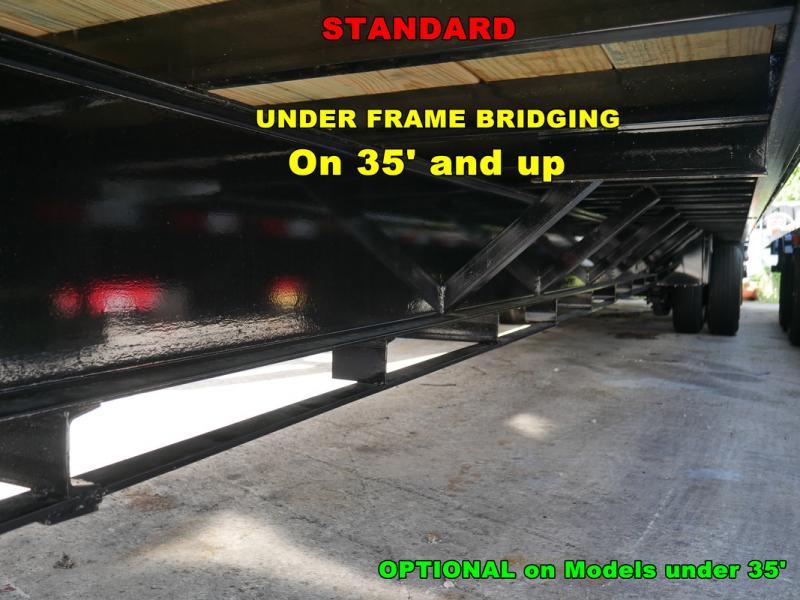 *FG61* 8.5x32 12 TON Flatbed Gooseneck Trailer |Hydraulic Dove Trailers 8.5 x 32 | FG102-32T12-LP/HYD