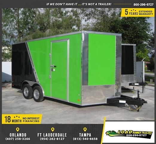 *E10C* 8.5x16 Enclosed*Trailer*Cargo Car Hauler 8.5 x 16   EV8.5-16T3-R