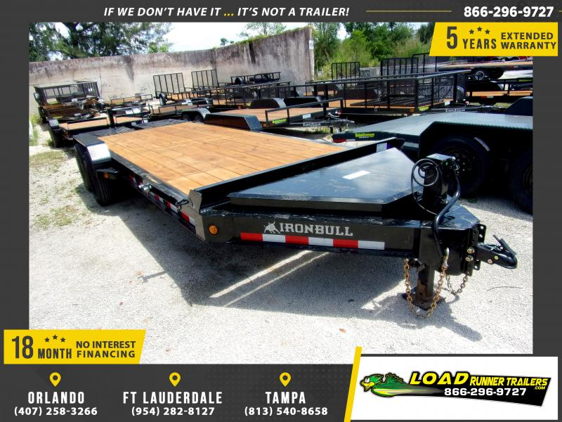 *115081* 7x20 Equipment Trailer |LRT Tandem Axle Trailers 7 x 20