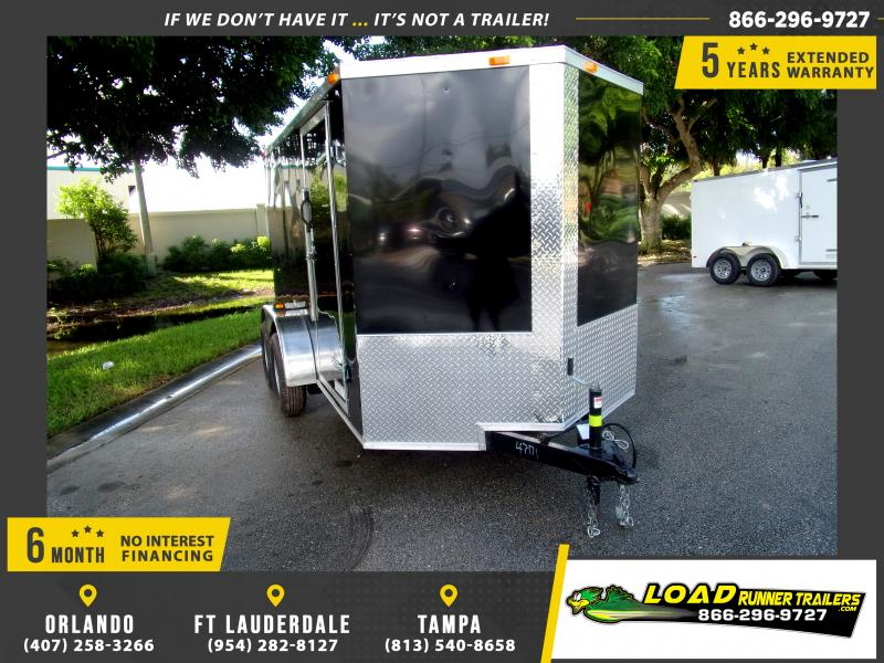*111773* 6x12 Enclosed Cargo Trailer |LRT Tandem Axle Trailers 6 x 12
