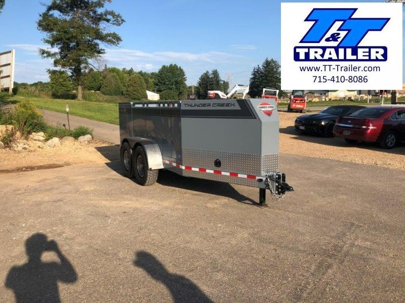 2020 Thunder Creek Equipment New 690 Gallon Multi Tank Service Trailer