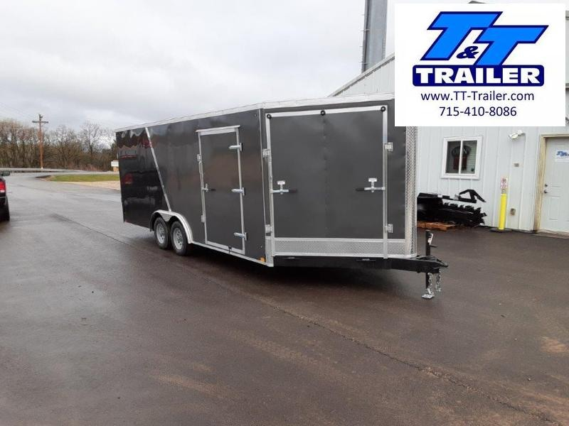 2022 Discovery Challenger ET 8.5 x 20 V-Nose Enclosed Combination Car and Toy Hauler Trailer