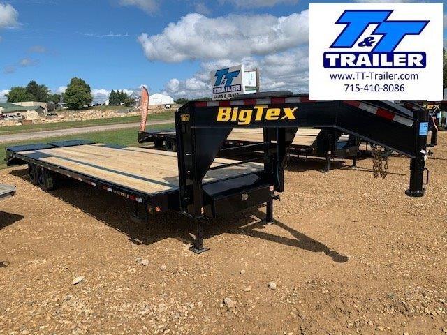 "2021 Big Tex 16GN 102"" x 33' Single Wheel Tandem Gooseneck Trailer"