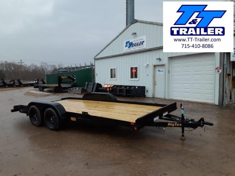 "2021 Big Tex 70CH 83"" x 18' Car Hauler"