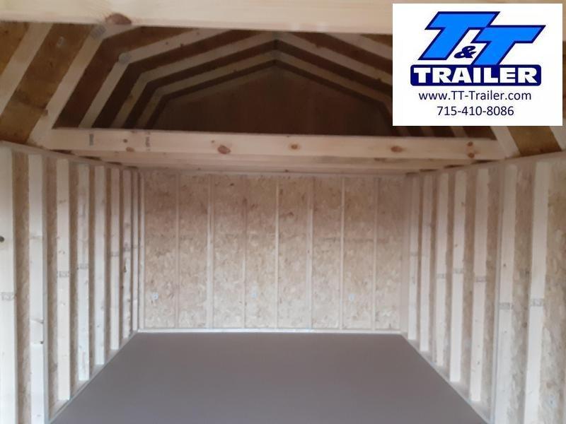 Urethane Lofted Barn (12x20) - In Stock