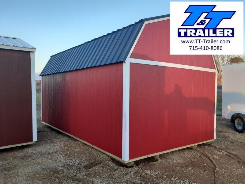 Urethane Lofted Barn (12x20) (Available)