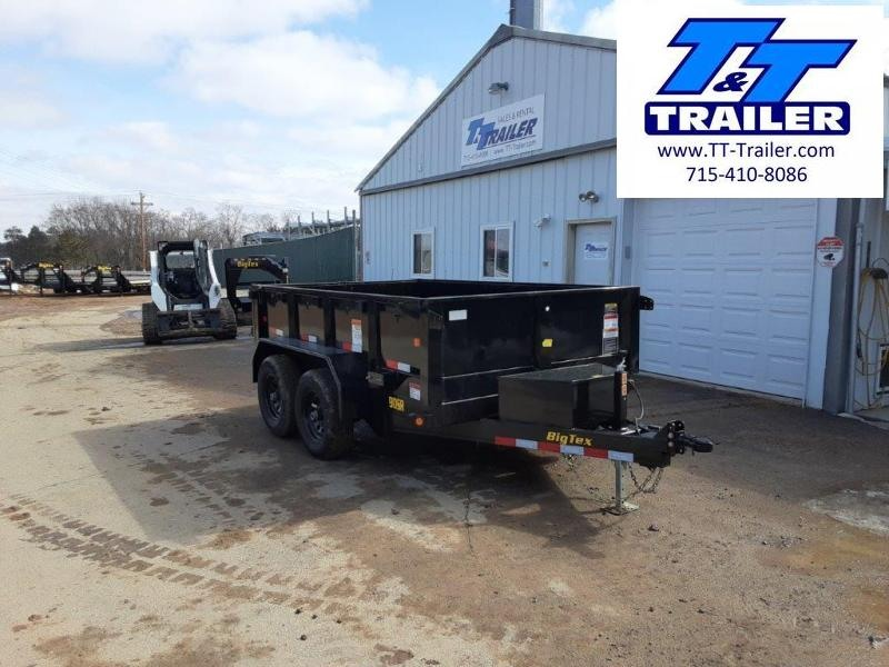 "FOR RENT - 72"" x 10' Dump Trailer w/ 20"" High Sides"
