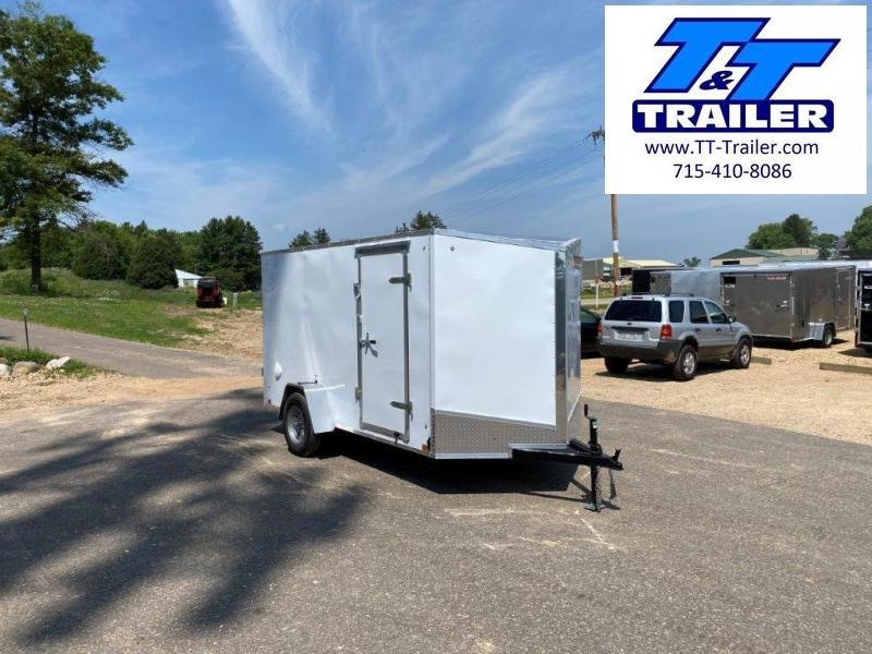 2021 Discovery Rover ET 6 x 12 V-Nose Enclosed Cargo Trailer