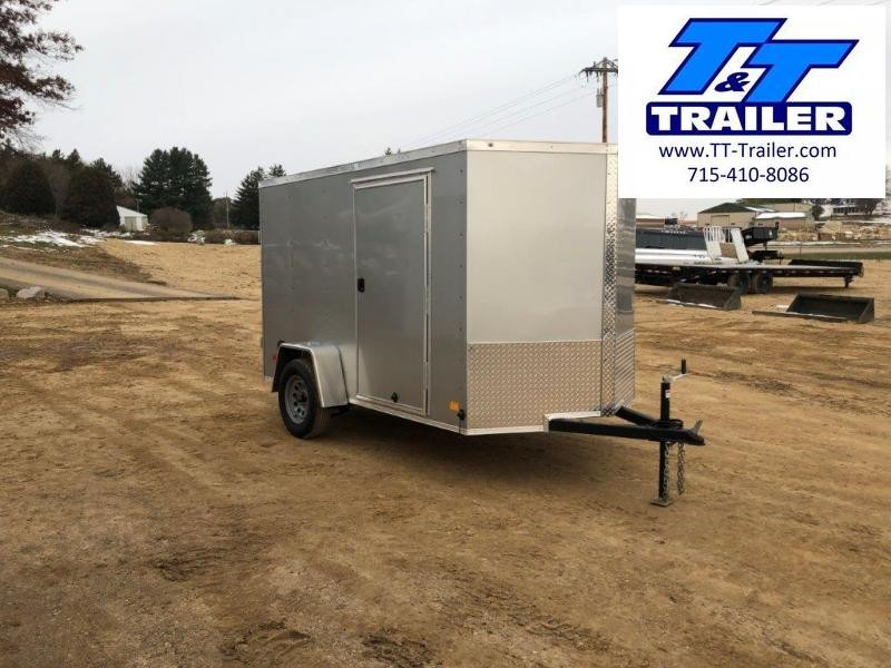 2021 Darkhorse 6 x 10 V-Nose Enclosed Cargo Trailer