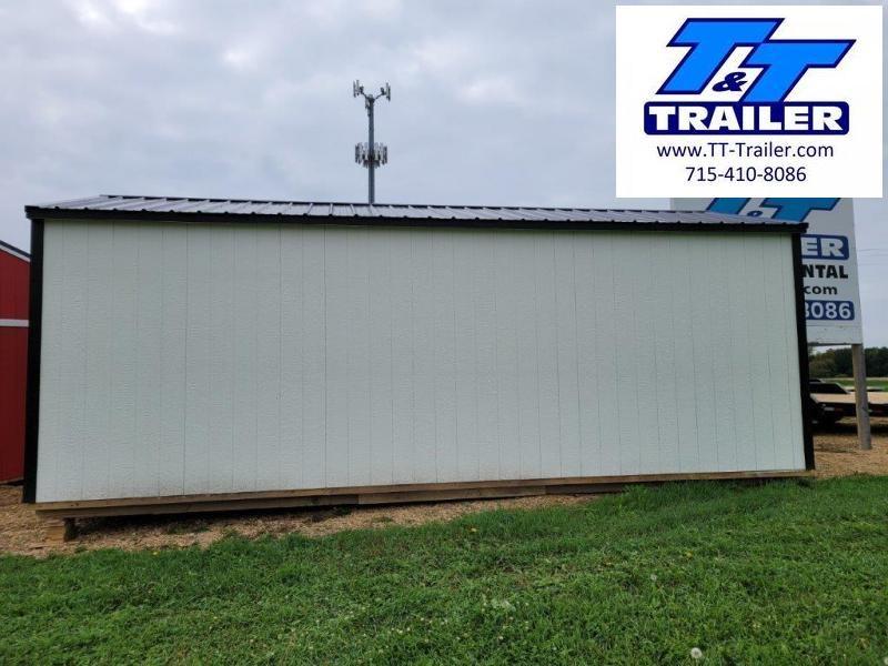 2021 Premier Portable Buildings Urethane Premier Garage (12x24) Garage/Carport