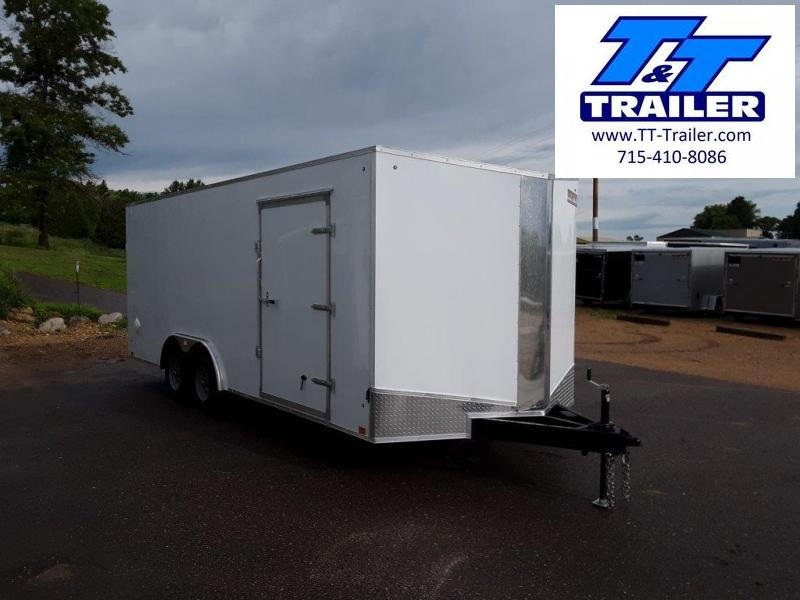 2021 Discovery Challenger ET 8.5 x 20 V-Nose Enclosed Combination Car and Toy Hauler Trailer