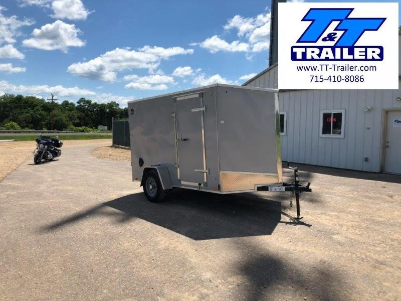 FOR RENT - 6 x 10 V-Nose Enclosed Cargo Trailer