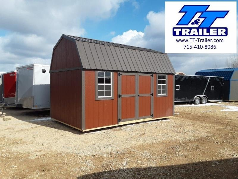 Urethane Side Lofted Barn (10' x 16')