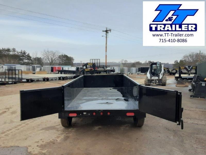 "2022 Big Tex 70SR 60"" x 10' Single Ram Dump Trailer"