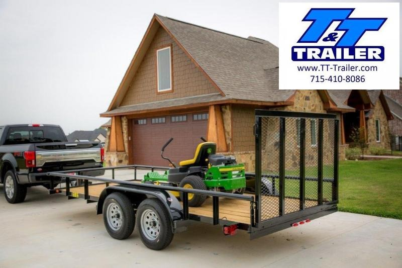 "2021 Big Tex 60ES 77"" x 14' Tandem Axle Utility Trailer"
