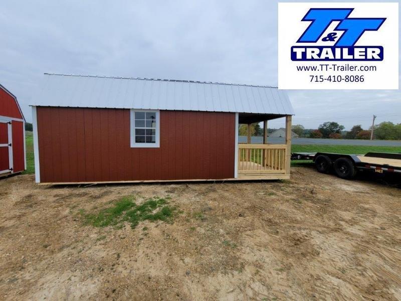 Urethane Lofted Barn Cabin (10x24)